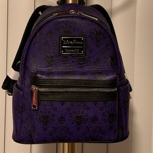 Disney Haunted Mansion backpack Loungefly